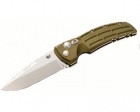"Нож Hogue EX-01 Tactical Folding Knife (G10, зелёный, 4"", Drop Point)"